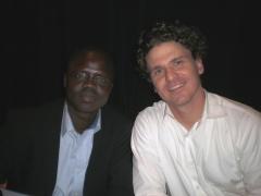 Valentino Achak Deng and Dave Eggers