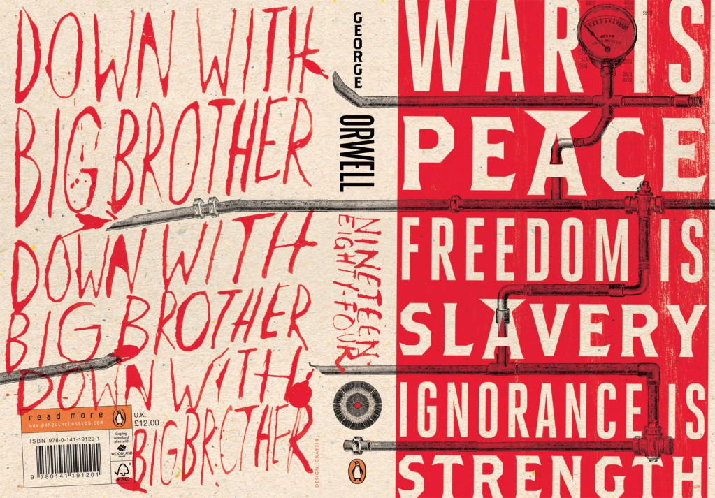 george orwell s nineteen eighty four a society Nineteen eighty-four  the book offers political satirist george orwell's nightmare vision of  orwell's 1984, which is about a society without.